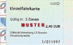 Leipzig lvb 110 zone Public transport
